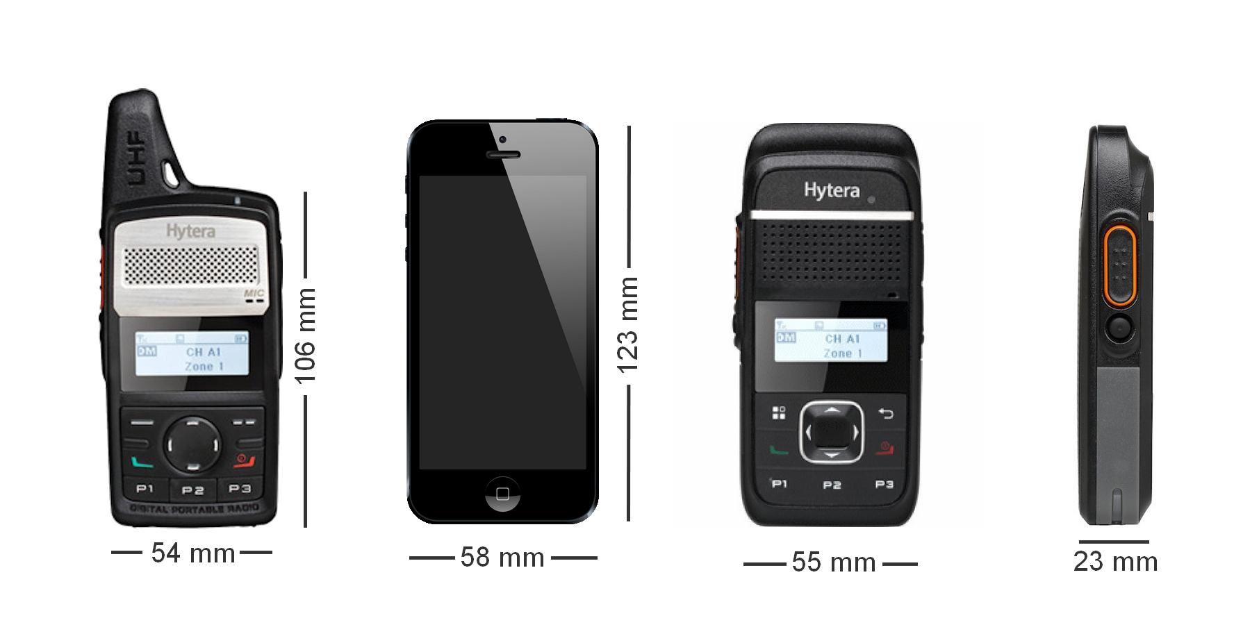 Talkie walkie petit léger HYTERA PD365 / PD355
