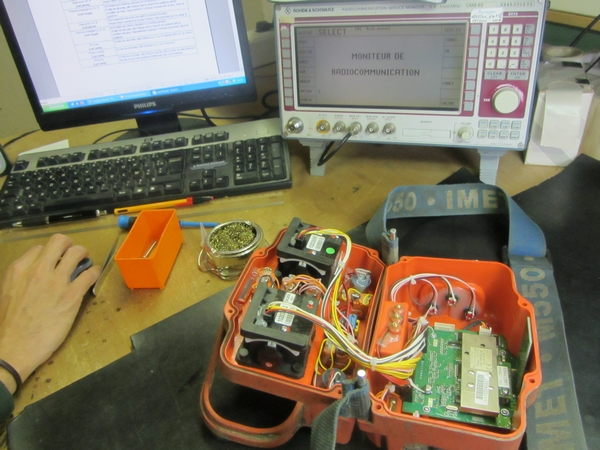 Réparation de télécommandes radio pour véhicules de TP